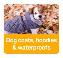 Dog coats, hoodies & waterproofs