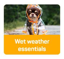 Wet weather essentials