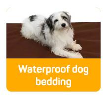 Waterproof dog bedding