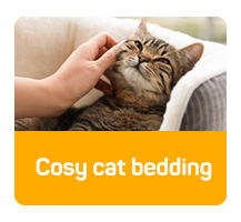 Cosy cat bedding