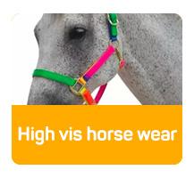 High vis horse wear
