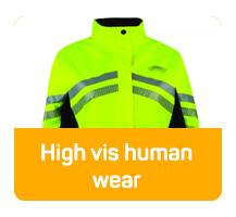 High vis human wear